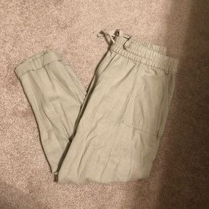 Old Navy Women's Small Capri Linen Pants